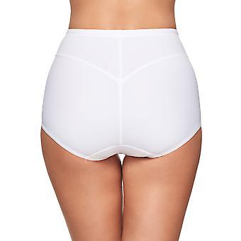 Susa 664-3 Women's Capri White Full Panty Highwaist Brief