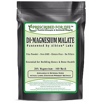 Magnesium-DiMagnesium Malate Powder-20% mg Albion