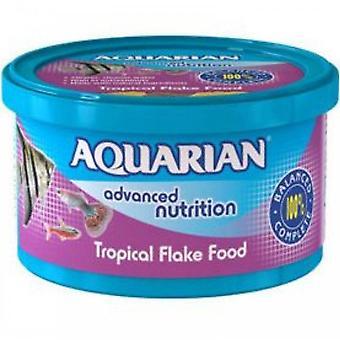 Aquarian Tropical Flake Fish Food 50g