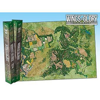 ボードゲームのための栄光の拡大田舎のゲームマットの翼