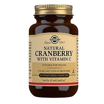 Solgar Natural Cranberry with Vitamin C Vegicaps 60 (955)