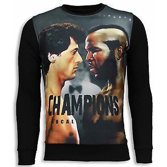 Rocky III-Sweatshirt-Schwarz