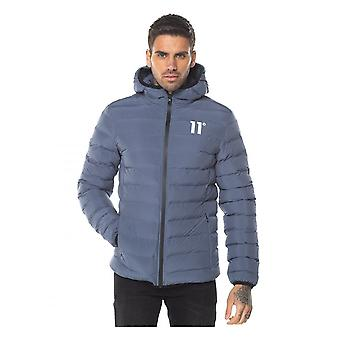 11 Degrees 11d Space Puffa Jacket Twister Grey