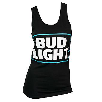 Women's Bud Light Black Tank Top