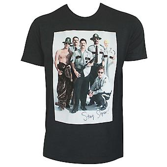 Super Troopers Cast Gray Men's TShirt