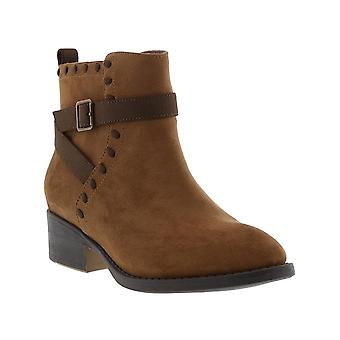 Niños Kenneth Cole Reaction Niñas Downtown Stitch Mid-Calf Cremallera Botas Occidentales