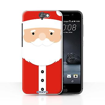 STUFF4 Case/Cover for HTC One A9/Santa Claus/Christmas Character