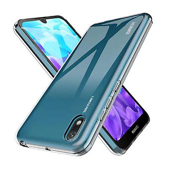 Stoff zertifiziert® Transparent Clear Case Cover Silikon TPU Fall Huawei Y5 2019