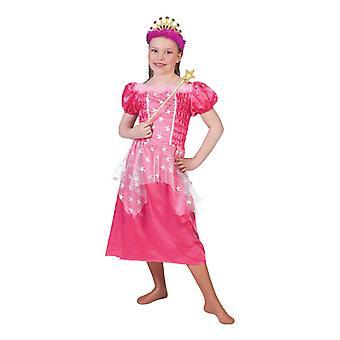 Star Fairy Princess of Stars Pink Children's Costume Star Dress Costume Dress Kids Girls Star