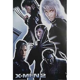 X-Men 2 X2 (Cast Shot Reprint) Reprint Poster