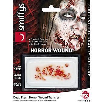Horror sår overføre døde kødet Halloween Fancy kjole tilbehør