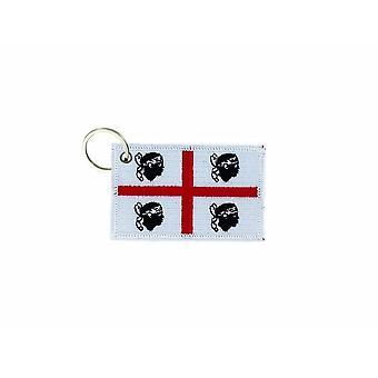 Cle Cles Clef Brode patch Ecusson badge vlag Sardinië Sardinië Sardinië