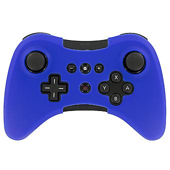 Silicone protective skin cover for nintendo wii u pro controller - royal blue
