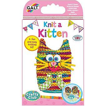 Galt Knit A Kitten - Craft Kit