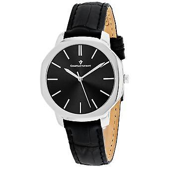 Christian Van Sant Women's Octave Slim Black Dial Watch - CV0500