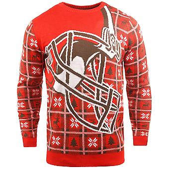 NFL Ugly Sweater XMAS Knit Sweater - Cleveland Browns