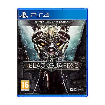 Blackguards 2 PS4 Game (GCAM English/Arabic Box)