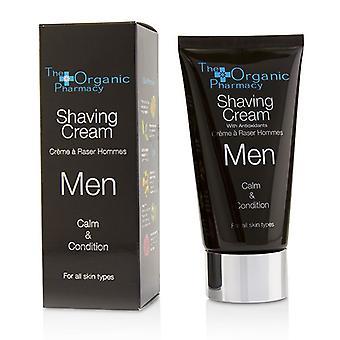 The Organic Pharmacy Men Shaving Cream - Calm & Condition 75ml/2.5oz