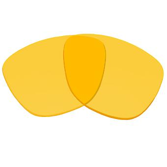 Replacement Lenses for Oakley Frogskins Sunglasses Yellow Anti-Scratch Anti-Glare UV400 by SeekOptics
