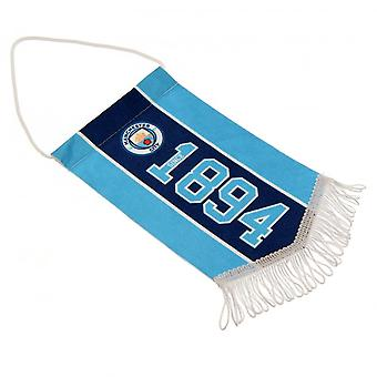 Manchester City FC Since Mini Pennant