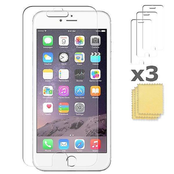 3-pack Apple iPhone 5SE 5s 5 5C  skärmskydd Screenprotection putsduk