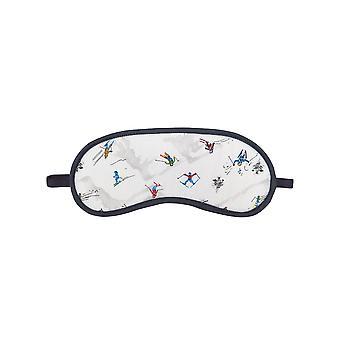 Cyberjammies 4093 kvinners Aspen hvit ski ut søvn øye maske