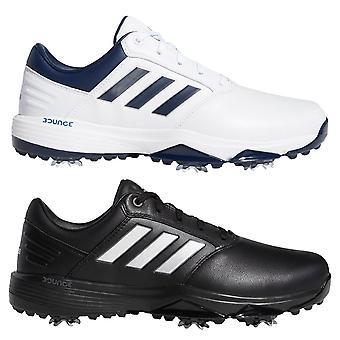 adidas Golf Herre 2020 360 Bounce II Spiked Læder Lace Up vandtæt golfsko