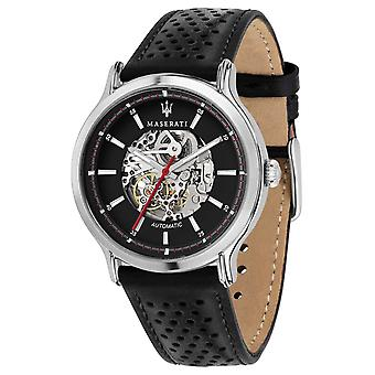 Maserati | Epoca Racing 42mm | Automatic | Black Leather Strap | R8821138001 Watch