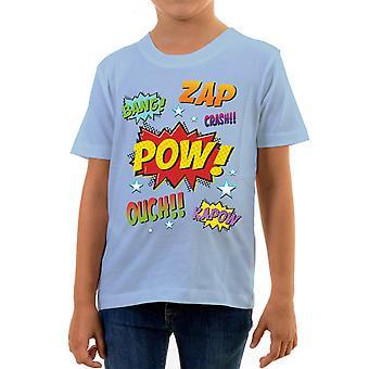 Reality glitch comic style kids t-shirt
