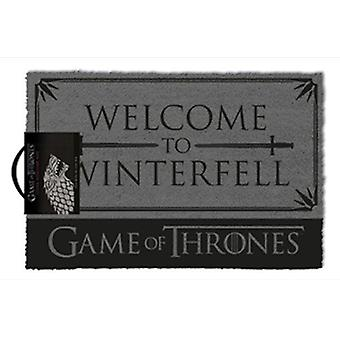 Game of thrones - welcome to winterfell doormat