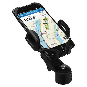 Universal holder for smartphones on bike - HR-imotion handlebar rod mount