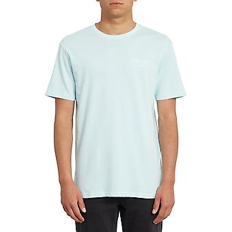 Volcom All Ages Short Sleeve T-Shirt in Resin Blue