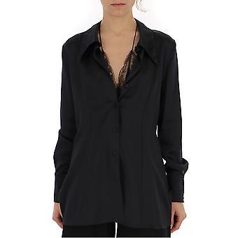 Maison Margiela S51dl0262s52192900 Women's Black Nylon Shirt