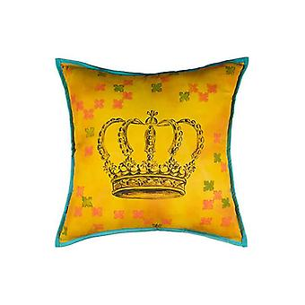 Crowning Glory King Throw Pillow Cover