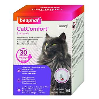 Beaphar kit con Feromonas para gatos CatComfort (katter, utbildning aids, anti-stress)
