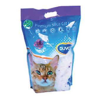Duvo+ Silica Sand for Cat Lavender 5L (Cats , Grooming & Wellbeing , Cat Litter)