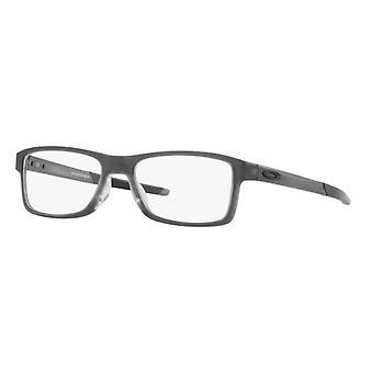 Oakley Chamfer MNP OX8089 03 Satin Grey Smoke Glasses