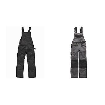 Dickies Unisex Industry 300 Two-Tone Work Bib & Brace Coveralls / Workwear
