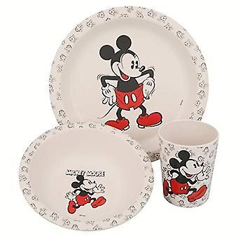 Mickey mouse Bamboo pranz set