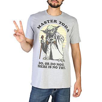 Star Wars Originale Uomini Tutto l'Anno T-Shirt - Colore Grigio 48744