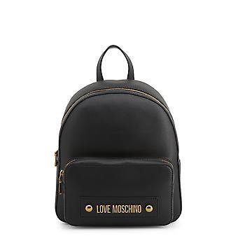 Love Moschino Original Women Spring/Summer Backpack/Rucksack Black Color - 71325