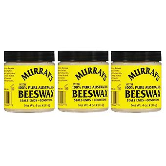 Murray's Yellow Beeswax, 4 Ounce (3- Pack)