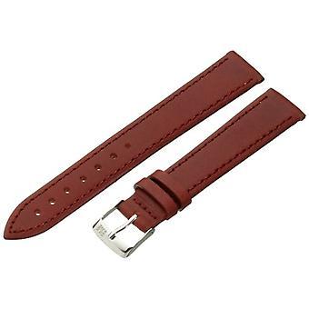Morellato black leather strap unisex AGILA golden brown 14 mm A01X3425695041CR16