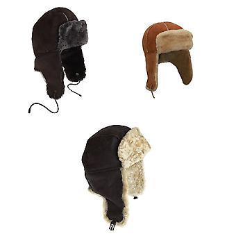 Eastern Counties Leather Womens/Ladies Bourn Sheepskin Pilot Hat