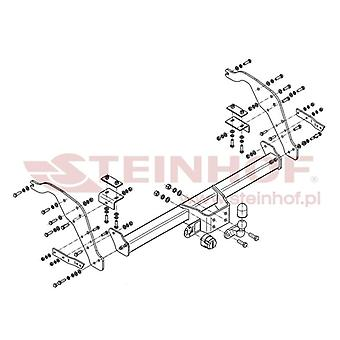 Steinhof Tow Bars And Hitches pour BT-50 Platform/Chassis 2012-2017
