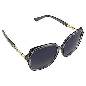 Sunglasses Ladies Square - Grey/Transparant2825_5