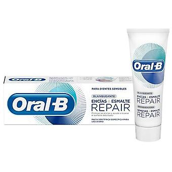 Oral B Toothpaste Gums and Enamel Repair Whitening 75 ml
