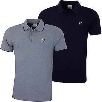 Lyle & Scott Męska koszulka polo z głowicą Wicking Wicking UV Protection