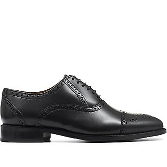 Jones Bootmaker Wide-Fit Leather Oxford Brogues