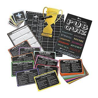 Host Your Own Pub Quiz Party Game Age 16+